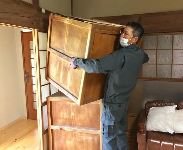 仕分け・片付け・梱包・分別・搬出・処分・軽清掃